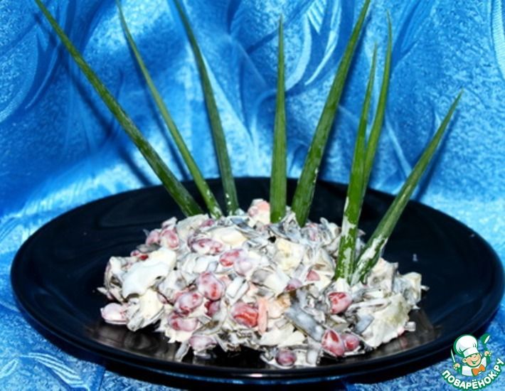 Рецепт: Салат Морские камушки