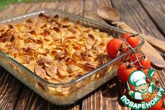Рецепт: Лучшая картофельная запеканка с хрустящей корочкой