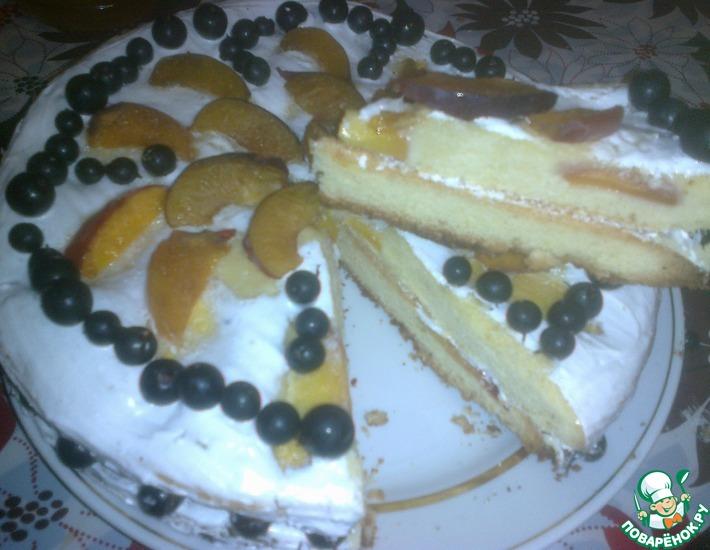 Рецепт: Июльский торт