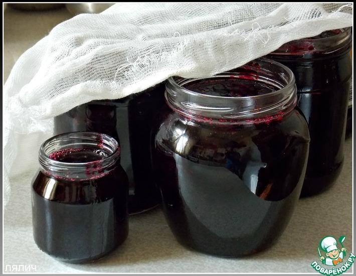 Рецепт: Желе из черной смородины на зиму
