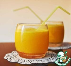 Рецепт Безалкогольный апельсиновый крюшон