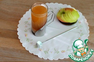 Рецепт: Сок-суперфуд яблочный с амарантовой мукой