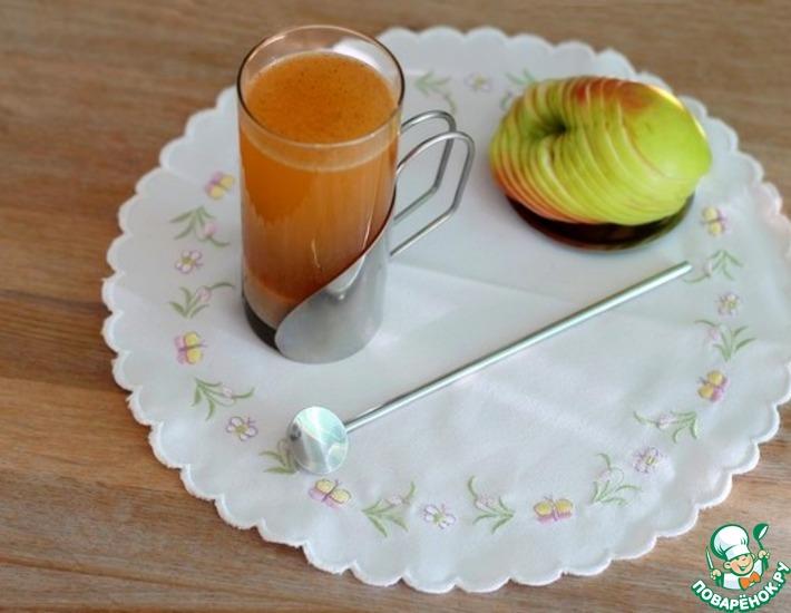 Рецепт: Сок яблочный с амарантовой мукой