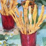 Cоленые томатные палочки с тмином