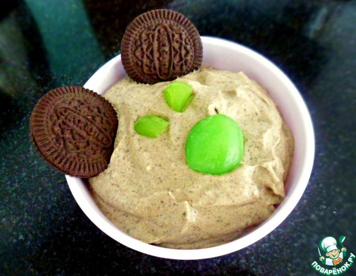 Рецепт: Сорбет из авокадо с Oreo печеньем