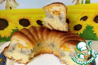 Рецепт: Бананово-абрикосовый кекс Экспресс-экзотик
