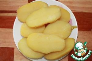 Картофельные лодочки с овощами – кулинарный рецепт