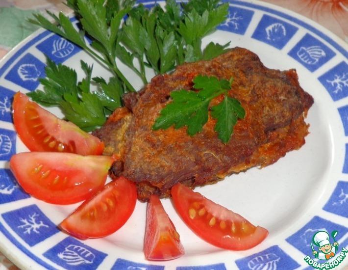 Рецепт: Свинина, запеченная в фольге в сливовом соке