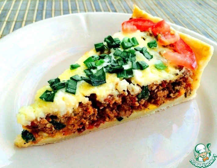 Рецепт: Мексиканский мясной пирог
