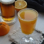 Пивной коктейль Зорро