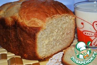 Рецепт: Белый хлеб с медом и имбирем