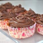 Шоколадный пудинг в кокосовых корзинках