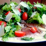 Карпаччо-салат из свежего тунца