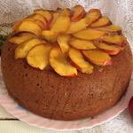 Пирог с яблоками и ягодами Летняя рапсодия