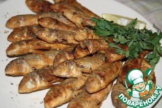 Рецепт: Жареная барабулька (султанка)