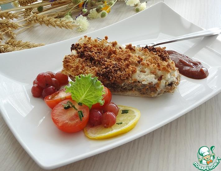 Рецепт: Рисовая запеканка с овощным жмыхом
