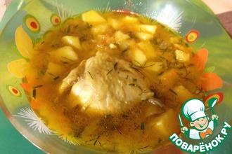 Рецепт: Тушеная картошечка По папиному рецепту