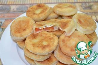 Рецепт: Пирожки «Бомбочки»