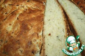 Рецепт: Хлеб из кабачков с зеленью
