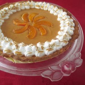 Рецепт Абрикосовый тарт с итальянской меренгой
