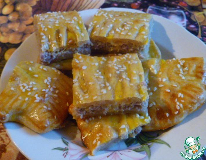 Рецепт: Быстрое слоеное тесто на закваске