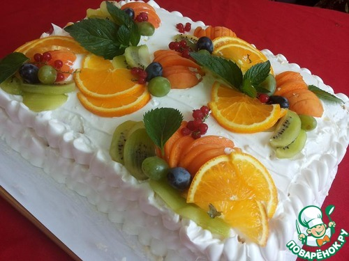 торт тропиканка пошаговый рецепт с фото