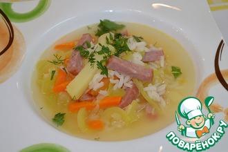 Рецепт: Рисовый суп с помидорами