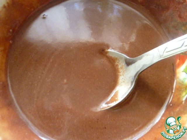 Тыквенное желе с шоколадом