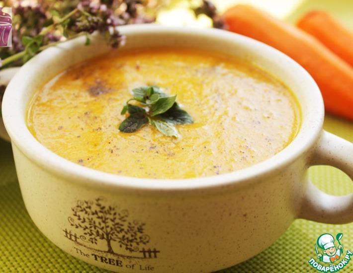 Рецепт: Морковный суп-пюре в мультиварке