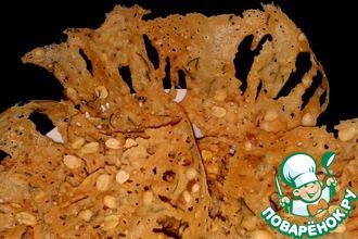 Рецепт: Чипсы с арахисом из рисовой муки