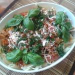 """Спагетти с соусом """"Болоньез"""" – кулинарный рецепт"""