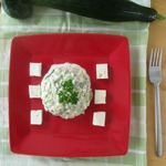 Огуречный тартар с фетой