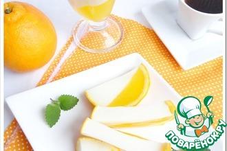 Рецепт: Молочно-апельсиновое желе
