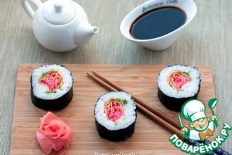 Рецепт: Кадзари-суши Тюльпан