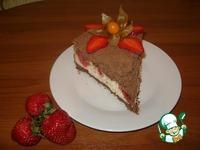 Насыпной пирог с творожно-клубничной начинкой ингредиенты