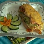 Куриное филе с брокколи и сыром