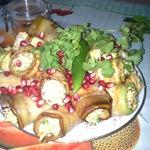 Дедушкины овощные рулеты с ореховой пастой