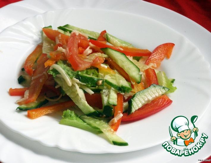Рецепт: Салат Вместо ужина