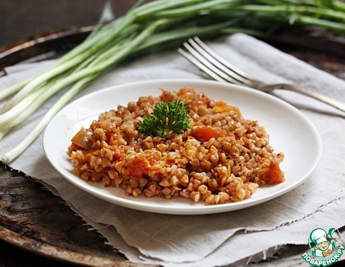 Рецепт: Гречка с томатом
