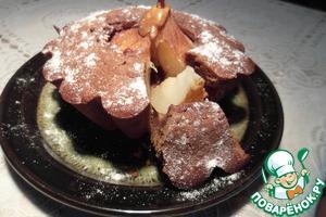 """Попробуйте сказку """"Груша в шоколадном кексе"""" – кулинарный рецепт"""