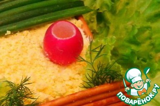 Рецепт: Белый салат  Веселый колодец