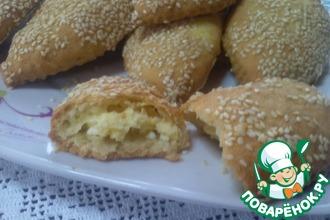 Рецепт: Пирожки с сыром Фета