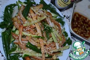 Свиные уши в соевом соусе – кулинарный рецепт