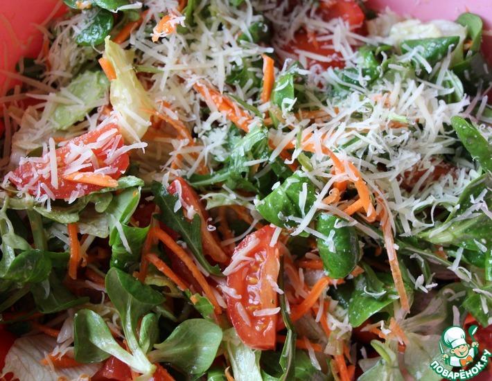 Рецепт: Салат «Итальянская лёгкость»