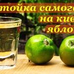 Самогонная настойка на киви и яблоках