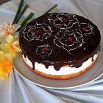 Простой торт с нежнейшим творожным кремом
