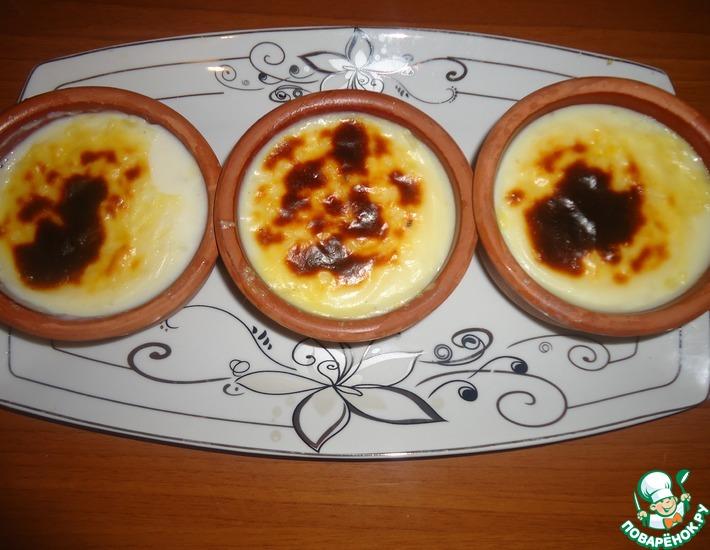 Рецепт: Сютлач (турецкий рисовый пудинг)