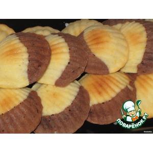 Печенье шоколадно-апельсиновые «А-ля мадлены»