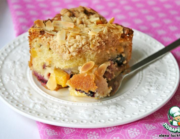 Рецепт: Американский летний фруктовый пирог Бакл