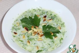 Рецепт: Холодный болгарский суп Таратор